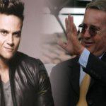 Alvaro Uribe y Silvestre Dangond