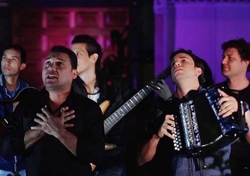 Jeank Centeno y Ronal Urbina en Concierto